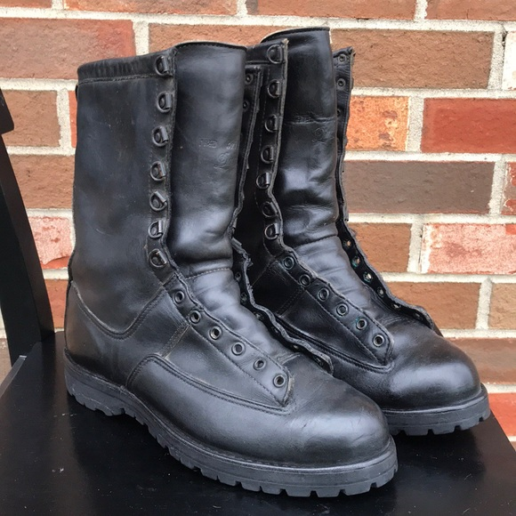 d3a143be92f Danner Gore-Tex leather black combat boots 11 1/2